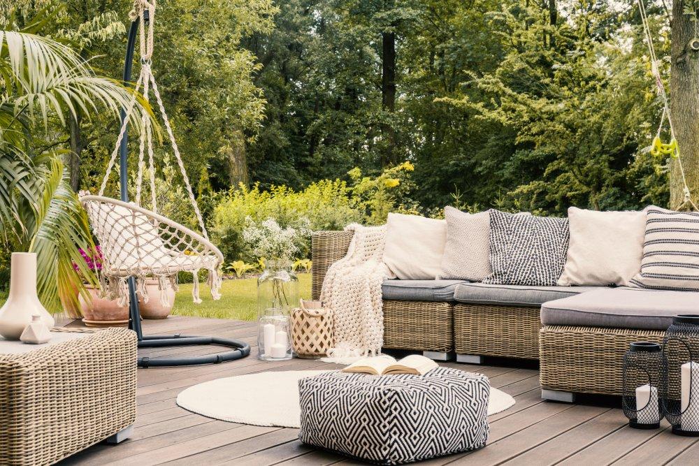 Le choix des meubles pour décorer son jardin