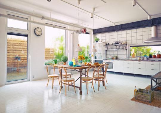 5 Idées pour une salle à manger au style rétro