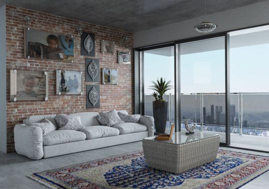 Introduire le tapis pour compléter le style de décoration vintage